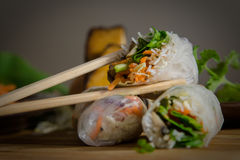 Vietnamese summer roll Royalty Free Stock Photography