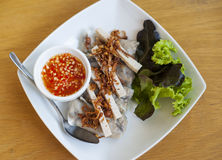 Vietnamese summer rolls Royalty Free Stock Photography