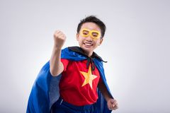 Vietnamese superhero Stock Photography