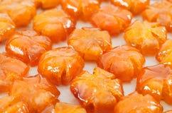 Vietnamese sweetened kumquat Royalty Free Stock Images