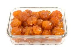 Vietnamese sweetened kumquats Stock Photos