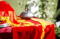 Vietnamese tea ceremony Royalty Free Stock Photos