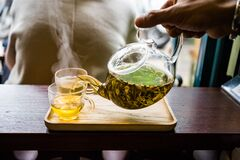 Free Vietnamese Tea Drinking Is Hobby Of The Older, More Learned Members In Households And In Society In General Royalty Free Stock Photos - 170214728
