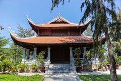 Vietnamese Temple Garden Royalty Free Stock Image