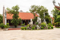 Vietnamese temple Royalty Free Stock Photo