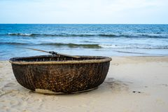 Vietnamese Thung Chai Boat royalty free stock photography