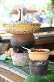 A vietnamese traditional food. Close up view of vietnamese traditional food stock images