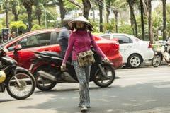 Vietnamese traditional hat Stock Photo