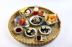 A Vietnamese tray of sushi Stock Photos