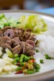 Vietnamese varkensvleessalade Stock Fotografie