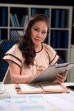 Vietnamese vrouwelijke manager royalty-vrije stock afbeeldingen