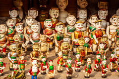 Vietnamese Water Puppets Stock Photo