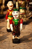 Vietnamese Water Puppets. At Hanoi, Vietnam Royalty Free Stock Images