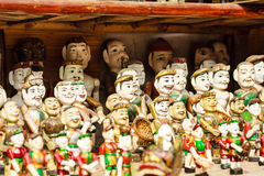 Vietnamese Water Puppets Stock Photos