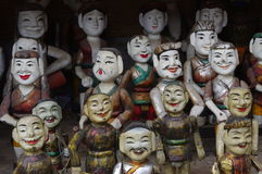 Vietnamese water puppets Royalty Free Stock Image
