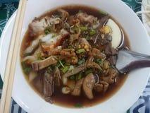 Vietnamese water thick paste of rice flour taste. Royalty Free Stock Photo