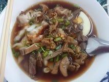 Vietnamese water thick paste of rice flour taste. Royalty Free Stock Photos