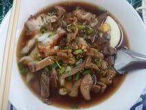 Vietnamese water thick paste of rice flour taste. Stock Photos