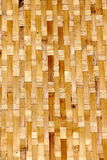 Vietnamese weaved baskets at market Stock Image