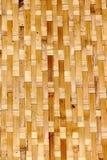 Vietnamese weaved baskets at market Stock Image