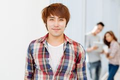 Vietnamese young man Royalty Free Stock Image