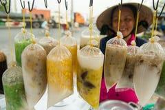 Vietnamese Zoete Soep Stock Fotografie