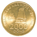 2000 Vietnamesedong-Münze Lizenzfreie Stockfotografie