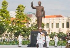Vietnamesische Ehrenwache lizenzfreies stockfoto