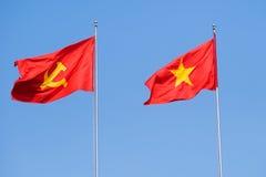 Vietnamesische Markierungsfahne Lizenzfreies Stockfoto