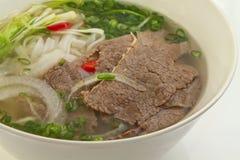 Vietnamesische Nudelsuppe Lizenzfreies Stockbild