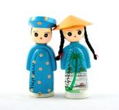 Vietnamesische Puppen Stockfotografie