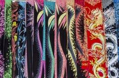Vietnamesische Schals Stockfotografie