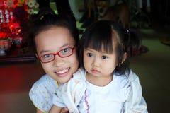 Vietnamesische Schwestern lizenzfreies stockbild