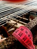Vietnamesische silk Fabrik Lizenzfreies Stockfoto