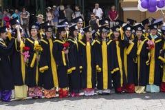 Vietnamesische Studenten Stockbild