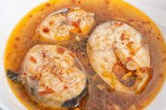 Vietnamesische traditionelle gesiedete Nordfische Stockfotos