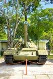 Vietnamesischer Behälter T-54 am Unabhängigkeits-Palast Stockfotos
