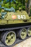 Vietnamesischer Behälter T-54 am Unabhängigkeits-Palast Lizenzfreie Stockbilder