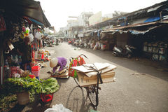 Vietnamesischer Markt Lizenzfreies Stockfoto