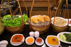 Vietnamesischer Pfannkuchen lizenzfreies stockbild