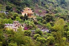 Vietnamesischer Tempel Stockfotografie