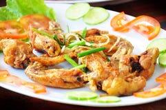 Vietnamesisches gebratenes Huhn Stockfotos