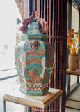 Vietnamesisches keramisches, Ausstellung 2015, Mailand Lizenzfreies Stockfoto