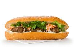 Vietnamesisches Sandwich Stockfotos