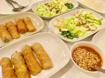 Vietnamesisches Schweinefleisch und Gemüse lizenzfreies stockfoto