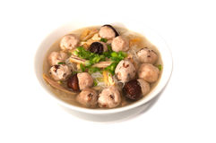 Vietnamesisk bullemocsoppa Arkivfoton