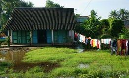 Vietnamesisk bygd Arkivbild