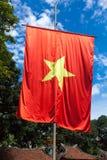 Vietnamesisk flagga Arkivbilder