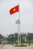 Vietnamesisk flagga Arkivfoto