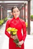 Vietnamesisk flicka Arkivbilder